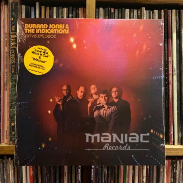 Maniac Records Durand Jones & The Indications Private Space Vinilo Color
