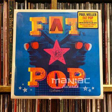 Maniac Records Paul Weller Fat Pop Edicion Vinilo Color