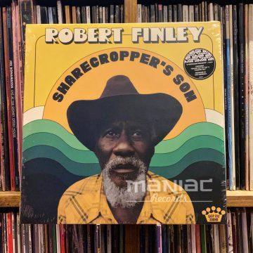 Maniac Records Robert Finley Sharecropper's Son Edicion Vinilo
